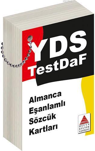 Almanca Eş Anlamlı Sözcük Kartları; YDS