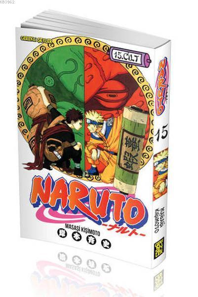 Naruto 15. Cilt - Naruto'nun Ninja Tekniği Defteri