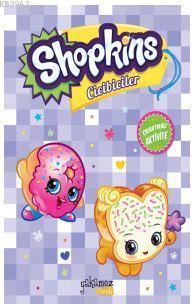 Shopkins Cicibiciler Çıkartmalı Aktivite - Mor Kitap