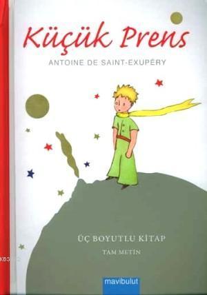 Küçük Prens; Üç Boyutlu Kitap