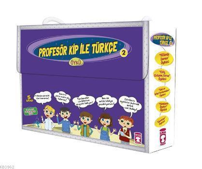 Profesör Kip ile Türkçe 2 Set (5 Kitap); +9 Yaş