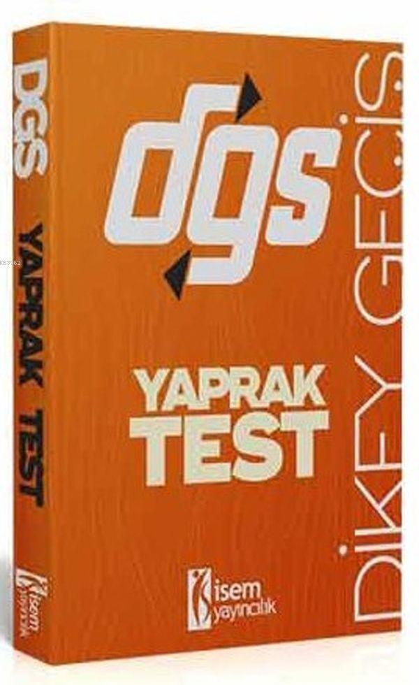İsem Yayınları DGS Yaprak Test