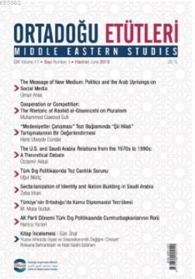 Ortadoğu Etütleri Cilt 11 - Sayı 1 - Haziran 2019