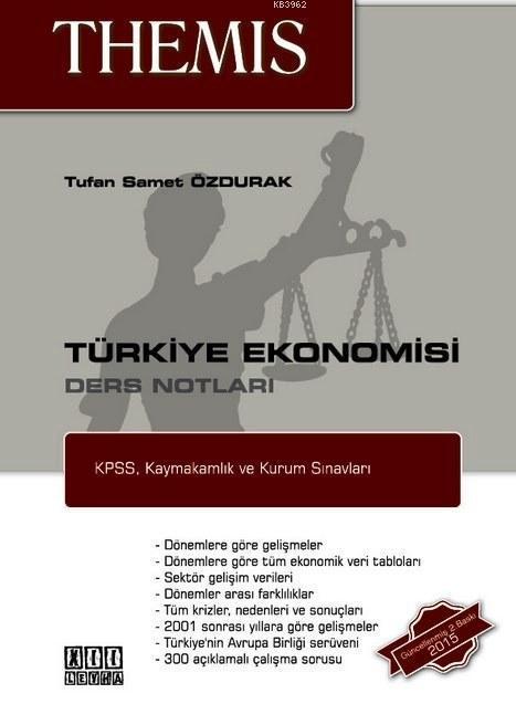 THEMIS Türkiye Ekonomisi Ders Notları
