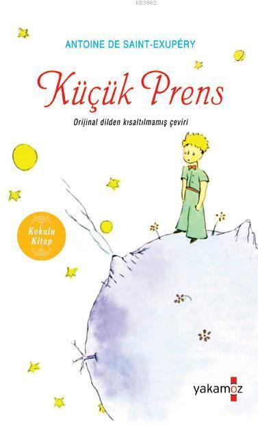 Küçük Prens; Kokulu Kitap - Özel Ayraç