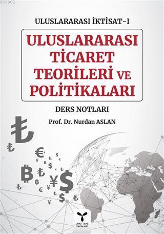 Uluslararası Ticaret Teorileri ve Politikaları - Uluslararası İktisat-1 Ders Notları