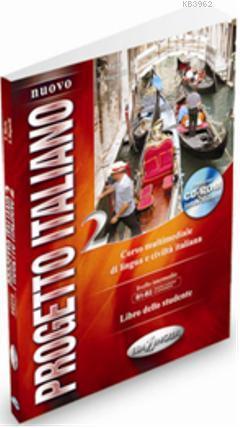 Nuovo Progetto Italiano 2 +CD ROM (İtalyanca Orta ve Orta-üst Seviye)