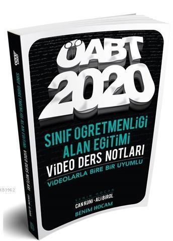 2020 ÖABT Sınıf Öğretmenliği Alan Eğitimi Video Ders Notları Benim Hocam Yayınları