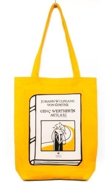 Bez Çanta (Sarı Gabardin) - Laforizma Serisi - Genç Werther