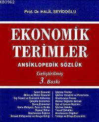 Ekonomik Terimler; Ansiklopedik Sözlük (geliştirilmiş 3. Baskı)