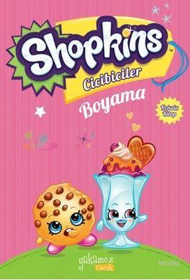 Shopkins Cicibiciler Boyama Kitabı-Pembe 2
