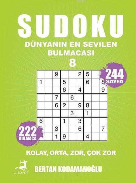 Sudoku 8; Dünyanın En Sevilen Bulmacası