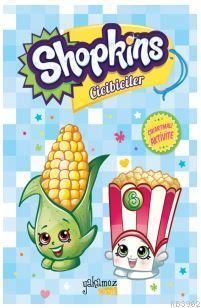 Shopkins Cicibiciler Çıkartmalı Aktivite - Mavi Kitap