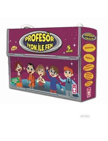 Profesör İyon ile Fen Set (5 Kitap); Profesör İyon ile Fen Çok Kolay!