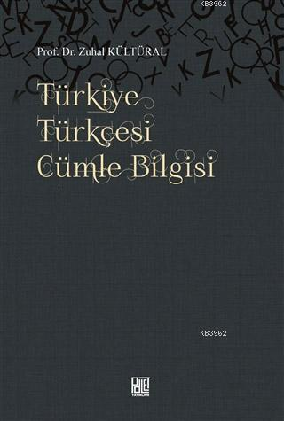 Türkiye Türkçesi Cümle Bilgisi