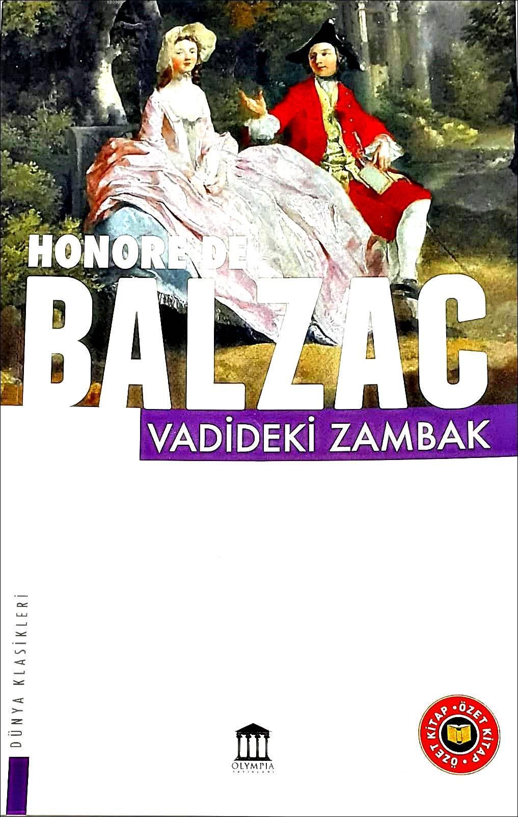 Vadideki Zambak(özet)