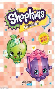 Shopkins Cicibiciler Çıkartmalı Aktivite - Turuncu Kitap