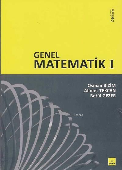 Genel Matematik - 1