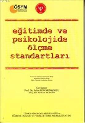 Eğitimde ve Psikolojide Ölçme Standartları