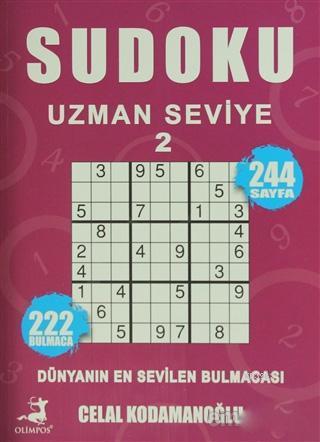 Sudoku Uzman Seviye 2; Dünyanın En Sevilen Bulmacası