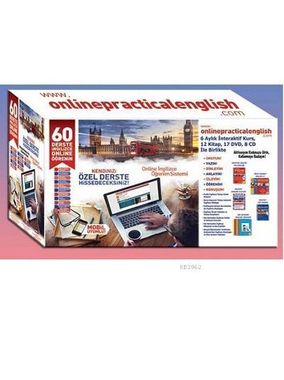 Online Practical English - www.onlinepracticalenglish.com; (6 Aylık İnteraktif Kurs + 12 Kitap + 17 Dvd + 8 Cd)