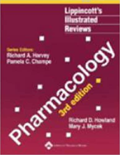 Pharmacology; Lippincott's Illustrated Reviews Series