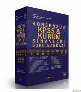 KONSENSUS KPSS ve Kurum Sınavları Hukuk Soru Bankası 2019