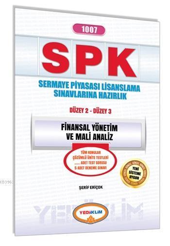 SPK 1007 Finansal Yönetim ve Mali Analiz