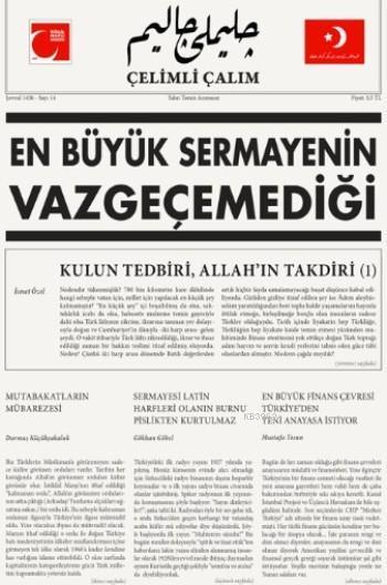 Türk Milliyetçilerinin Mecmuası Yıl:2 Sayı:14