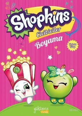 Shopkins Cicibiciler Boyama Kitabı-Pembe1