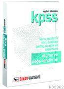 KPSS Ölçme ve Değerlendirme Konu Anlatımlı