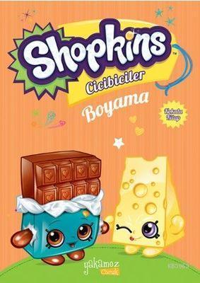 Shopkins Cicibiciler Boyama -Turuncu; Kokulu Kitap